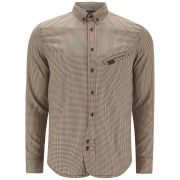 Marshall Artist Men's Tradesman's Shirt - Rust Check