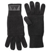 Marc by Marc Jacobs Fisherman Sweater Gloves - Black