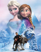 Frozen Collage Mini Poster - Mini Poster - 40 x 50cm