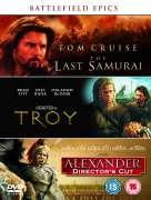 Battlefield Epics - Last Samurai/Alexander [Dir. Cut]/Troy