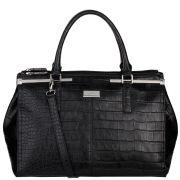 Fiorelli Jasmine Triple Compartment Grab Bag - Black Croc