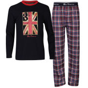 Ben Sherman Boys' Pyjama Set - Navy