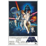 Star Wars A New Hope One Sheet - Giant Poster - 100 x 140cm