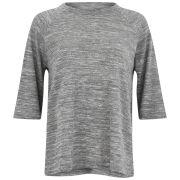 rag & bone Women's Kenna Raglan Melange T-Shirt - Light Grey