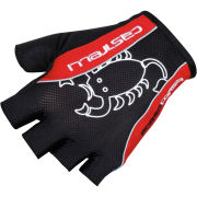 Castelli Rosso Corsa Classic Gloves - Red/Black