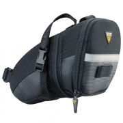 Topeak Wedge Aero Saddlebag With Strap - Large