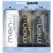men-ü Matt Pack (3 x 15ml)