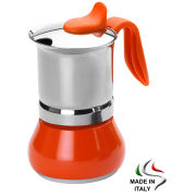 G.A.T. Winner Espresso Maker 4 Cup - Orange