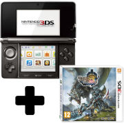 Nintendo 3DS (Cosmos Black) + Monster Hunter 3 Ultimate