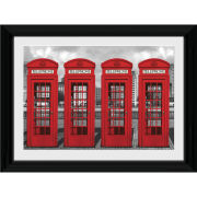London Phoneboxes - 30 x 40cm Collector Prints