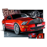 Easton Red Mustang GT500 - Lenticular Poster - 47 x 67cm