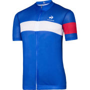 Le Coq Sportif Performance Blue Short Sleeve Jersey - Blue