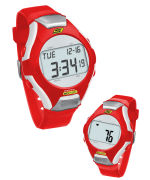Skechers Wrist Band Watch & Heart Rate Monitor - Red