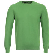 Romeo Gigli Men's Italian Cotton Cashmere Jumper - Green