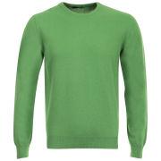 Romeo Gigli Men's Italian Cotton Cashmere Jumper - Green
