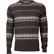 Tokyo Laundry Men's Piccadilly Crew Neck Knit - Dark Grey Marl