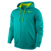 Nike Men's KO Full Zip Hoodie 2.0 - Turbo Green