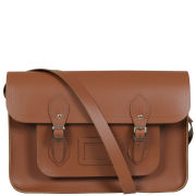 Cambridge Satchel Company 14 Inch Leather Satchel - Vintage Tan