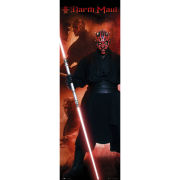 Star Wars Darth Maul - Door Poster - 53 x 158cm