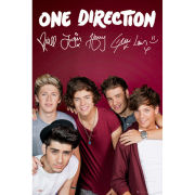 One Direction Maroon - Maxi Poster - 61 x 91.5cm