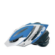 Catlike Sakana Helmet with Visor - Blue/White