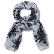 Impulse Women's Palm Tree Scarf - Multi