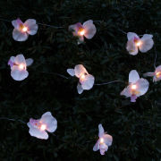 Orchid Solar String Light - Warm White