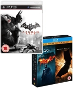 Batman: Arkham City & The Dark Knight / Batman Begins Blu-ray Bundle