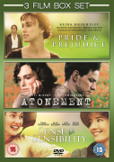 Atonement / Pride and Prejudice / Sense and Sensibility