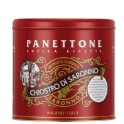 Traditional Panettone in Classic Tin