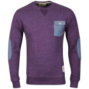 Soul Star Men's Parachute Long Sleeved Top - Plum