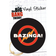 The Big Bang Theory Bazinga - Vinyl Sticker - 10 x 15cm