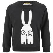 Peter Jensen Women's Mini Lash Rabbit Sweatshirt - Black