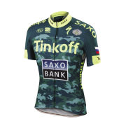 Tinkoff-Saxo Bodyfit Team Training Short Sleeve Jersey - Camouflage
