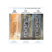 men-u Set 3 x 15ml  - Matt Refresh & Moisturise Set