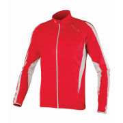 Endura FS260 Pro JetStream III LS FZ Cycling Jersey - Red/White