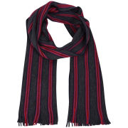 Ted Baker Murphys Vertical Multi Stripe Scarf - Purple