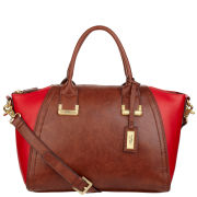 Fiorelli Kay Francis Zip Top Grab Bag - Choc/Red Mix