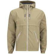 Brave Soul Men's Pattinson Hooded Jacket - Tobacco