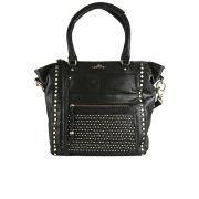 Urbancode Grudge Leather Shopper Tote Bag - Black