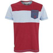 Kangol Men's Felton T-Shirt - Red Marl