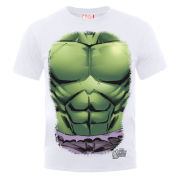 Marvel Avengers Assemble Hulk Chest Burst Men's T-Shirt - White