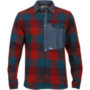 Humor Men's Dummy Large Pocket Shirt - Check