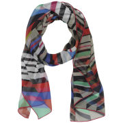 Codello Graphic Love Zig Zag Stripes Scarf