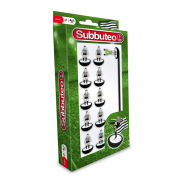 Subbuteo Black And White Team Set