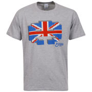 Joystick Men's England Invader T-Shirt - Grey