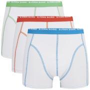 Bjorn Borg Men's Short Basic Seasonal 3 To Go Shorts - White
