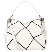 Fiorelli Serena Graphic Hobo Bag - White/Black