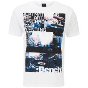 Bench Men's Synchro T-Shirt - White