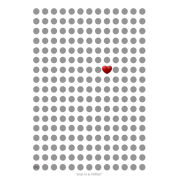 'One in a Million' Love Editions by Johnny Cotter - A3 Print